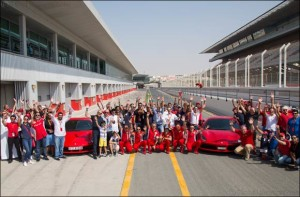 488 GTB and F12berlinetta liven up the track action
